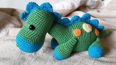Dinosaurios Amigurumis Patrones Gratis : Patron gratis amigurumi dino dino colorido buscar con google