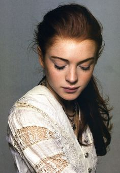Gorgeous Lindsay Lohan photo. Really sad to see how she looks now compared to this.