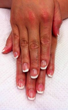 Elegant Gelish French! Call 604-418-2426 to book an appointment if you are in the Vancouver area!