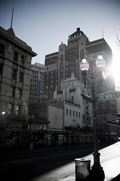 sunny and stark downtown el paso | Flickr - Photo Sharing!