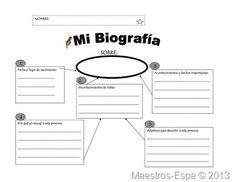 Recursos para maestros de español: Organizador para