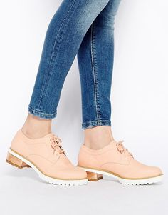 CUTE, with jeans would be adorable!!!!!  Pale pink oxfords from @asos
