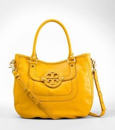 Great color for summer.  Tory Burch 'Amanda' Hobo