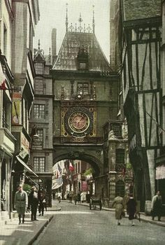 Rouen France; casually gonna be walking these streets in less than 6 months :) :) :)