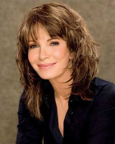 hairstyle for women above 50 Enhanced elegance
