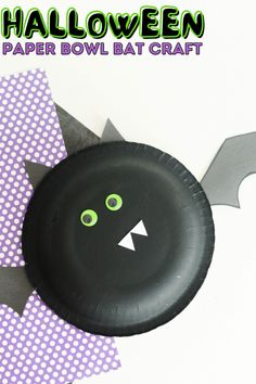 Looking for a fun craft to make with younger kids this fall? This Halloween paper bowl bat craft is such a fun way to celebrate Halloween with kids! Make it at home, or with a classroom full of kids! Kids will love to make these paper bowl cats and hand them up to decorate your home or classroom for Halloween. Fun crafts for the fall season. Fun Halloween Activities, Fun Halloween Crafts, Halloween Kids, Spider Web Craft, Spider Crafts, Crafts To Make, Easy Crafts, Crafts For Kids, Toddler Learning Activities