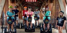 Triad ECO Adventures - Sightseeing Tours - Stroll for an exciting trip on a Segway tour and have fun while roaming around with Triad ECO Adventures