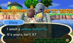 Your sense of smell is really specific! #animalcrossing