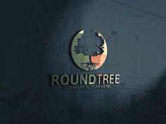 Round Tree Logo by Josuf Media on @creativemarket