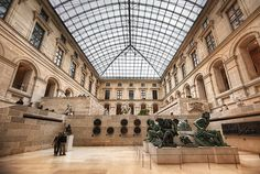 LOVED the Louvre while in Paris, they need a hotel inside, so you can just stay there a week.