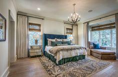 Master bedroom -Stan Dixon, Architect, Atlanta