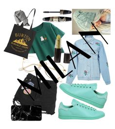 """""""#MILAN"""" by helloitsstacy ❤ liked on Polyvore featuring Chicnova Fashion, Boohoo, adidas, Ksenia Schnaider, Burton, Max Factor and Acne Studios"""