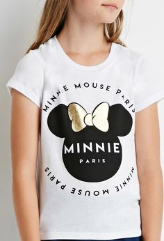 Minnie Mouse Paris Tee (Kids) - Graphic Tees - 2000172151 - Forever 21 UK