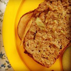 wholesome apple & cinnamon breakfast bread