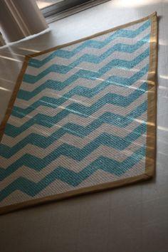 Paint a rug...