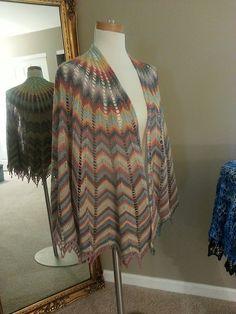 Raveler MakeOne's lovely Rainbow Hypernova, knit in elann Pippi Longcolors Lite.  http://international.elann.com/product/elann-pippi-longcolors-lite-yarn-5-ball-bag/