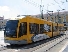 Streetcar, Lisbon, Portugal.