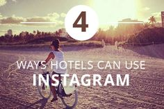 4 ways hotels can use Instagram in event marketing. #hospitality