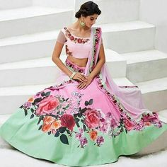 Checkout this digital printed fabulous lehenga choli  Product Info : Top :- Bhagalpuri print with pepar prash Original mirror and Diamond  Inner :- havvy santon  Dupatta :- Soft net full broader  Length :- Max up to 58 Size :- Max up to 44  Flair :- 6 Meter Style :- Western Lehenga Type :- Semi Stitched ( Material )  Weight :- 1.500kg  Limited Stock Available  Price : 2850 INR Only ! #Booknow  CASH ON DELIVERY Available In India !  World Wide Shipping ! ✈  For orders ..