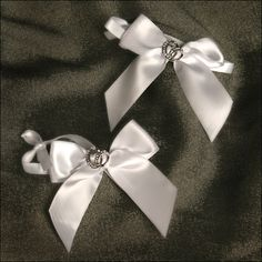 Accent Bows - With This Ring - White