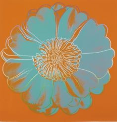 Andy Warhol, Flower for Tacoma Dome, c. 1982