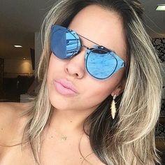 c2e13b1fb0 Mirrored Composit 1.0 Fashion Sunglasses Reflective Lens Rimless Frame Men  Women