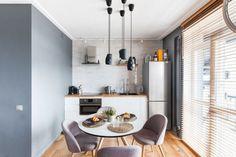 Saját munka és kreatív lakberendezés egy kis 37m-es lakásban, üveg hálószobával, gardróbhelyiséggel