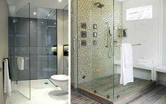 Cómo decorar baños con cristal