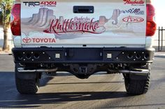Treat yourself and upgrade that stock rear bumper. Our Venom Rear Bumper available for the 2014 Toyota Tundra is the perfect upgrade. Find out why now!