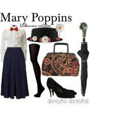 Mary Poppins costume. Finally a female Halloween costume that doesn't force me to get naked.