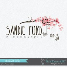 Premade Photography Logo and Watermark Design - Photography or Boutique Logo - Simple Line Logo - Business Branding on Etsy, $35.00