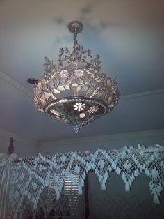 Maison Bagues Very Rare Ornate Chandelier French Crystal Antique Chandelier, Chandelier Lighting, Chandeliers, French Chandelier, Vintage Lamps, Vintage Lighting, Sconce Lighting, Home Lighting, Lamp Light