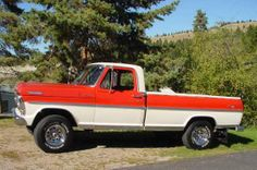 1967 Ford F-100 4WD Ranger - Camper Special  Purchased in 1966 and we still have it.  Actual mileage - approximately 73,000.