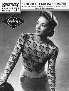 Bestway 710 Knitting Pattern on Etsy, $3.00
