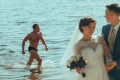 Photograph body of water sea bride fun wedding dress wedding vacation beach bridal clothing Funny Images, Funny Photos, Stupid Funny Memes, Hilarious, Draw The Squad, Boyfriend Memes, Meme Template, Know Your Meme, Cursed Images