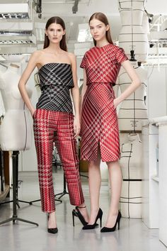 Christian Dior Pre-Fall 2013 Collection.  I like the one on the right.