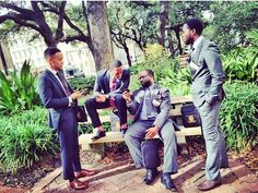 "ratchetengineer: "" blackmeninsuits: "" A suit is necessary for an Alpha man. "" A suit is necessary for a black man """