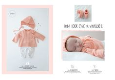 Mini-catalogue N°597 Layette - Layette - Phildar