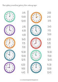 Clock Worksheets, Kindergarten Math Worksheets, Maths Puzzles, School Worksheets, Math Activities, English Grammar For Kids, Teaching English Grammar, German Language Learning, Maths Solutions