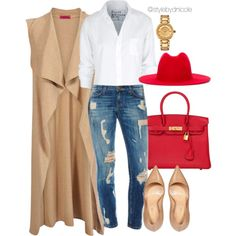 Untitled #3257 by stylebydnicole on Polyvore featuring Boohoo, Frank & Eileen, Sergio Rossi, Hermès, Versace and Études