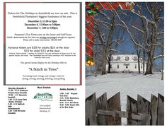 Historic Smithfield Plantation presents The Holidays at Smithfield on Friday, December 5th through Sunday, December 7th. Advance tickets can be purchased in person at Smithfield or by phone.