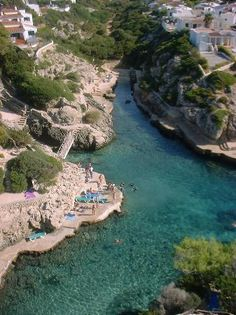 Cala'n Forcat,  Balears Spain. A great view from our balcony!