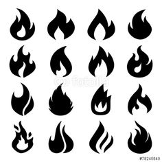 Vector: Fire Icons