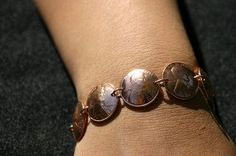 Coin Bracelet Vintage Penny Coin Jewelry. $35.00, via Etsy.