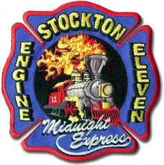 Stockton Fire Department fire patch #Setcom