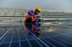 Solar power price slump casts shadow on India's green future
