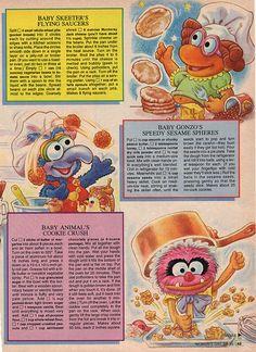Muppet Babies Cookbook 3 by smurfwreck77, via Flickr