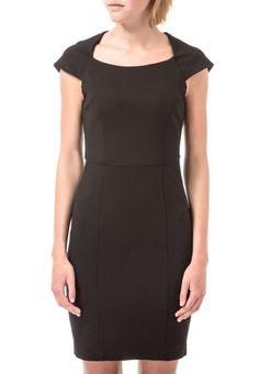 973e51ddb8c8 Tahari by Arthur S. Levine Asymmetrical Neckline Belted Sheath Dress ...