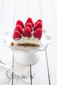 Frambozen cheesecake | simoneskitchen.nl
