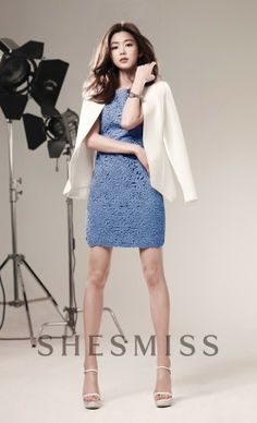 'You Who Came From The Stars' Jun Ji Hyun is looking beautiful in catalog photos for 'Nepa' and 'SHESMISS'